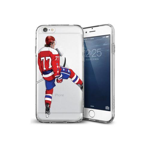 77 Hockey iPhone Case