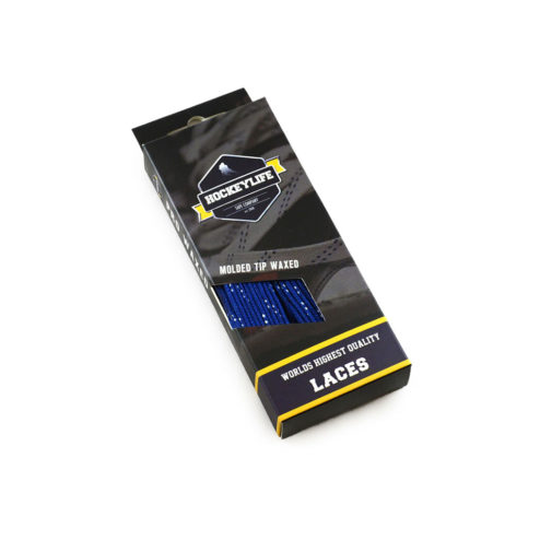 Howies Hockey Laces Blue