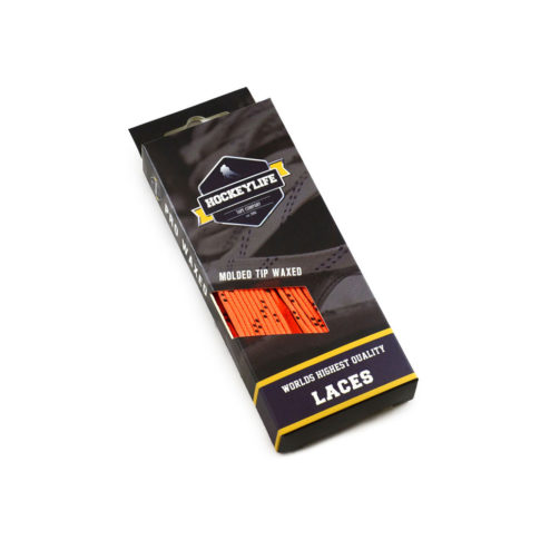 Howies Hockey Laces Orange