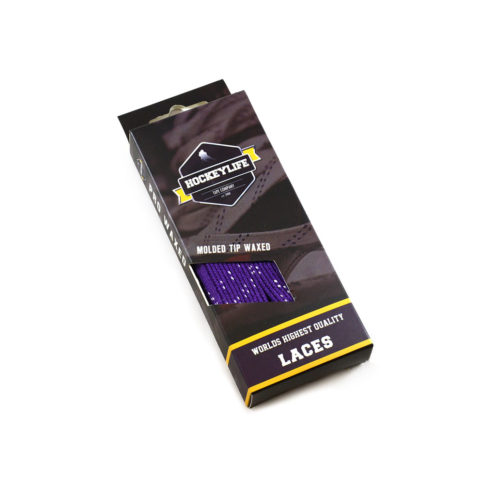 Howies Hockey Laces Purple
