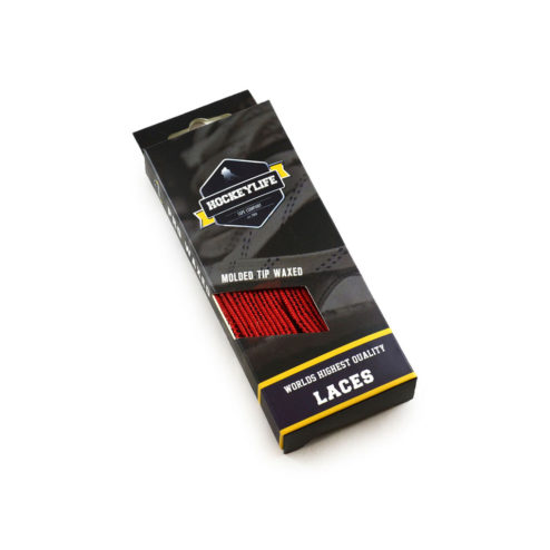 Howies Hockey Laces Red