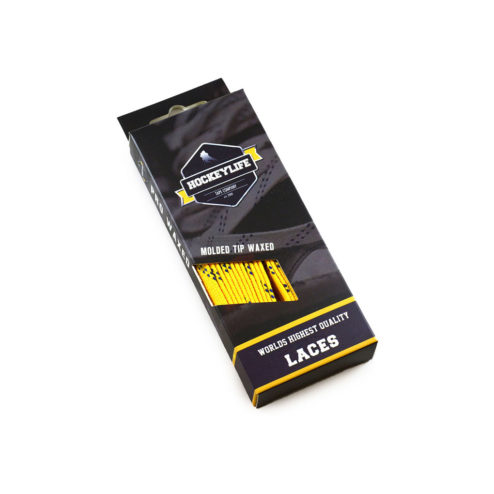 Howies Hockey Laces Yellow