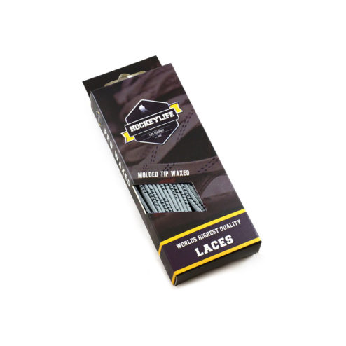 Howies Hockey Laces Silver